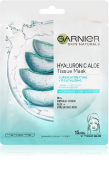 Garnier Skin Naturals Hyaluronic Aloe Moisturising face sheet mask