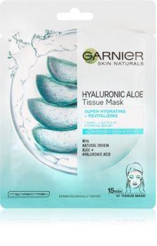 Garnier Skin Naturals Hyaluronic Aloe хидратираща платнена маска