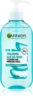 Garnier Skin Naturals Hyaluronic Aloe почистващ гел