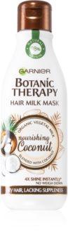Garnier Botanic Therapy Hair Milk Mask Nourishing Coconut Haarmaske für trockenes und zerbrechliches Haar
