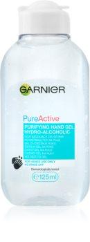 Garnier Pure Active почистващ гел за ръце