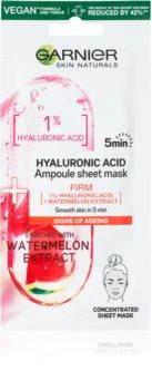 Garnier Skin Naturals plátýnková maska s hydratačním a revitalizačním účinkem