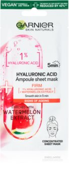 Garnier Skin Naturals платнена маска с хидратиращ и ревитализиращ ефект