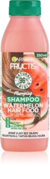 Garnier Fructis Watermelon Hair Food Sampon finom, lesimuló hajra