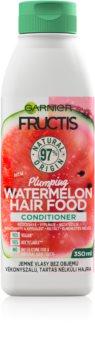Garnier Fructis Watermelon Hair Food balsam pentru păr fin cu efect de volum