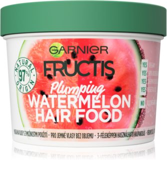 Garnier Fructis Watermelon Hair Food Mask For Fine Hair And Hair Without Volume