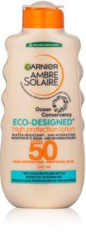 Garnier Ambre Solaire Eco-Designed Protection Lotion napozó krém UVA és UVB szűrővel