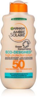 Garnier Ambre Solaire Eco-Designed Protection Lotion слънцезащитен крем с UVA и UVB филтри