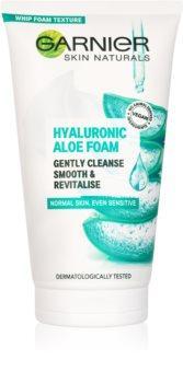 Garnier Skin Naturals Hyaluronic Aloe Foam почистваща пяна