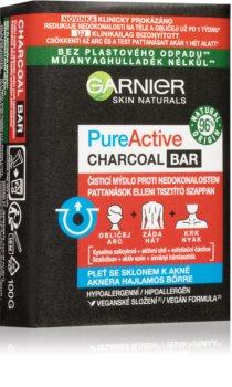 Garnier Pure Active Charcoal Bar čisticí mýdlo