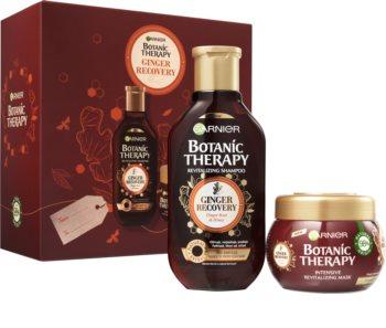 Garnier Botanic Therapy Ginger Recovery ajándékszett (finom és lesimuló hajra)