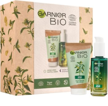 Garnier Organic Repairing Hemp Gift Set (For Skin Renewal)