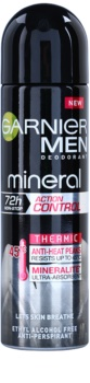 Garnier Men Mineral Action Control Thermic déodorant anti-transpirant en spray