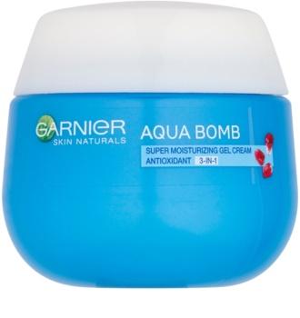 Garnier Skin Naturals Aqua Bomb хидратиращ дневен гел-крем 3в1 с антиоксидиращ ефект