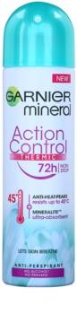 Garnier Mineral Action Control Thermic Hikoilua Estävä Deodoranttisuihke
