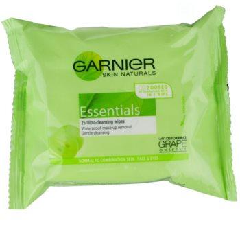 Garnier Essentials odličovací ubrousky pro normální až smíšenou pleť