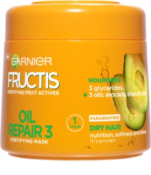 Garnier Fructis Oil Repair 3 maska za učvršćivanje za suhu i oštećenu kosu