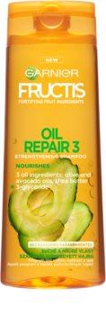 Garnier Fructis Oil Repair 3 šampon za učvršćivanje za suhu i oštećenu kosu