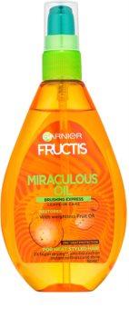 Garnier Fructis Miraculous Oil huile protectrice anti-frissotis