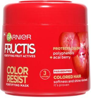 Garnier Fructis Color Resist mascarilla nutritiva para proteger el color