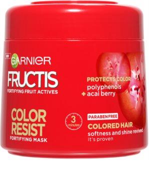 Garnier Fructis Color Resist maseczka odżywcza chroniąca kolor