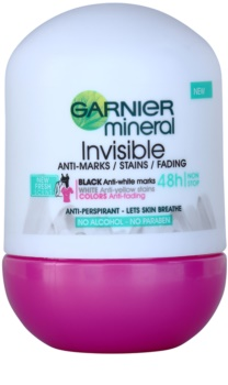 Garnier Mineral Invisible roll-on antibacteriano