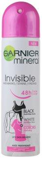 Garnier Mineral Invisible antitranspirante em spray