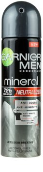 Garnier Men Mineral Neutralizer antitraspirante spray contro le macchie bianche