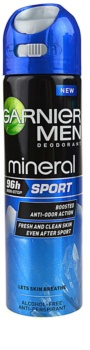 Garnier Men Mineral Sport antitranspirante em spray
