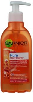 Garnier PureFruit Energy gel limpiador para pieles grasas