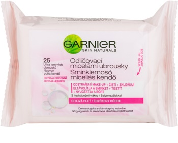 Garnier Skin Naturals micelarni čistilni robčki za občutljivo kožo