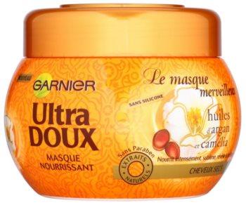 Garnier Ultra Doux vyživující maska pro suché a hrubé vlasy