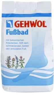 Gehwol Classic banho para pés cansados e doridos com extratos vegetais