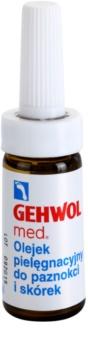 Gehwol Med óleo protetor para as infecções fúngicas da pele e dos pés