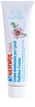 Gehwol Med crema deodorante intensa lunga durata per i piedi