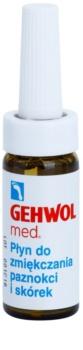 Gehwol Med trattamento emolliente per unghie incarnite e pelle dei piedi molto indurita