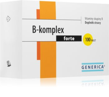 Generica B-komplex Forte komplex vitaminů skupiny B