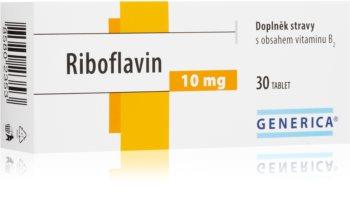 Generica Riboflavin pro podporu kvality kůže a vlasů