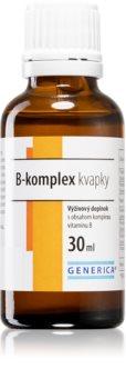 Generica B-komplex kapky kapky obsahující vitaminy skupiny B
