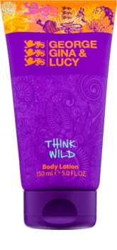 George Gina & Lucy Think Wild leche corporal para mujer 150 ml