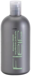Gestil Fleir by Wonder champú para uso diario para cabello graso