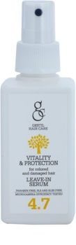 Gestil Vitality & Protection sérum revitalizante para cabelo danificado e pintado