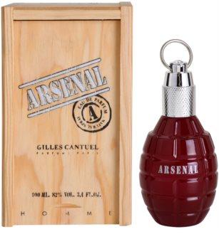 Gilles Cantuel Arsenal Red eau de parfum para homens 100 ml