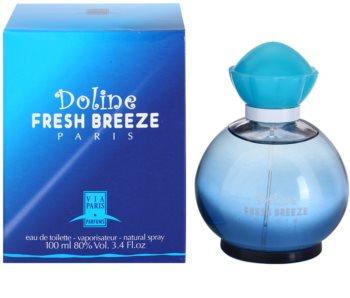 Gilles Cantuel Doline Fresh Breeze Eau de Toilette para mulheres 100 ml