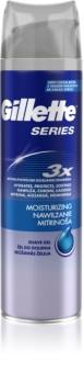 Gillette Series Moisturizing gel de barbear com efeito hidratante