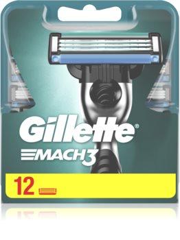 Gillette Mach3 recarga de lâminas