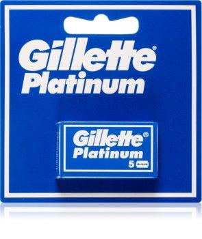 Gillette Platinum lamette di ricambio