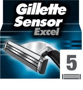 Gillette Sensor Excel lame di ricambio per uomo