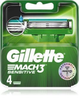 Gillette Mach3 Sensitive Rasierklingen