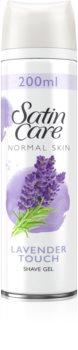 Gillette Satin Care Pure & Delicate gel per rasatura da donna